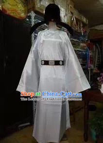 Traditional Ancient Chinese Minister Costume, Asian Chinese Tang Dynasty Scholar Embroidered Robe Clothing for Men
