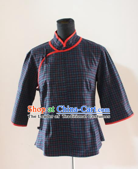 Traditional Ancient Chinese Republic of China Cheongsam Blouse, Asian Chinese Chirpaur Upper Outer Garment Clothing for Women