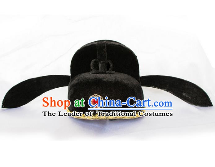 Traditional Handmade Chinese Ancient Prince Classical Hat for Men