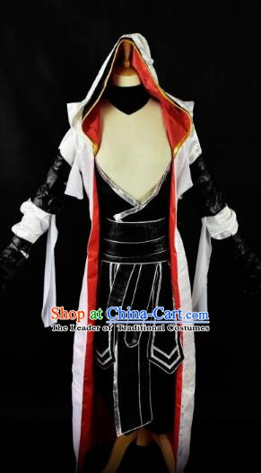 Traditional Chinese Cosplay Ancient Swordswoman Costume for Men