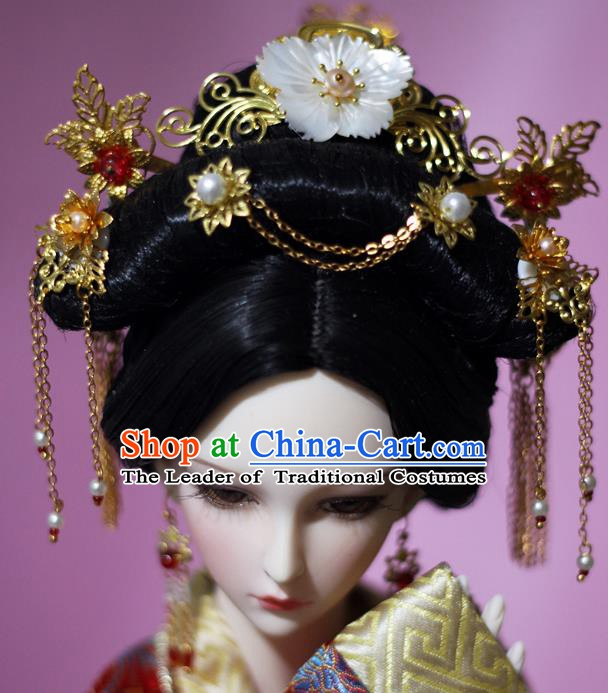 Chinese Ancient Style Hair Jewelry Accessories Cosplay Hairpins Headwear Headdress