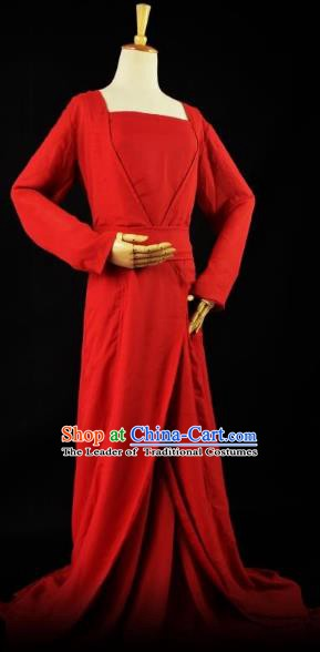 Traditional Chinese Ancient Cosplay Princess Costume Tang Dynasty Fairy Clothing for Women