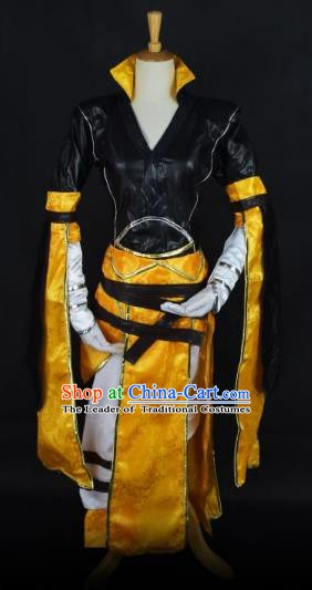 Traditional Chinese Ancient Cosplay Nobility Childe Costume Ming Dynasty Swordsman Clothing for Men