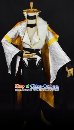 Traditional Chinese Ancient Cosplay Nobility Lady Costume Ming Dynasty Swordsman Clothing for Women