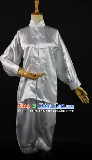 Traditional Chinese Ancient Martial Arts Costume, China Tang Suit Taiji Kung Fu Clothing for Women
