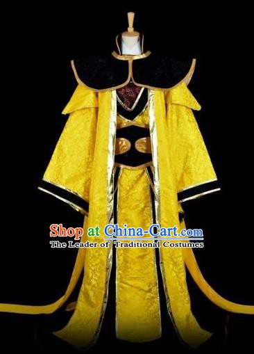 Traditional Chinese Ancient Swordsman Embroidered Costume Tang Dynasty Nobility Childe Clothing for Men