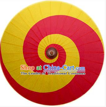 Asian China Dance Umbrella Stage Performance Umbrella Handmade Red Oil-paper Umbrellas