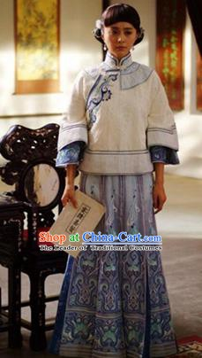 Traditional Chinese Ancient Republic of China Nobility Lady Embroidered Xiuhe Suit Costume for Women