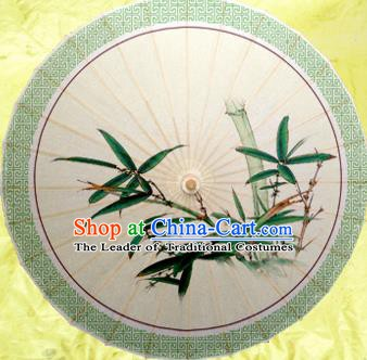 China Traditional Dance Handmade Umbrella Classical Painting Bamboo Oil-paper Umbrella Stage Performance Props Umbrellas