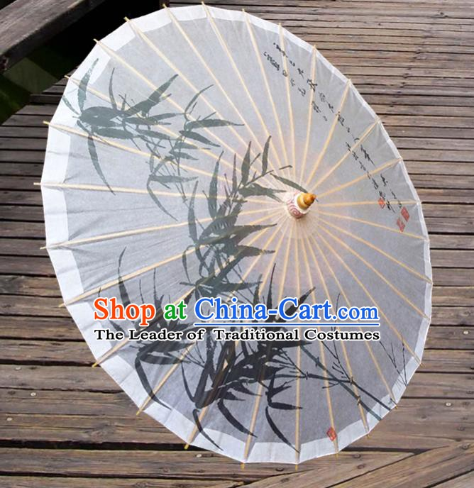 Handmade China Traditional Dance Umbrella Classical Printing Bamboo Oil-paper Umbrella Stage Performance Props Umbrellas