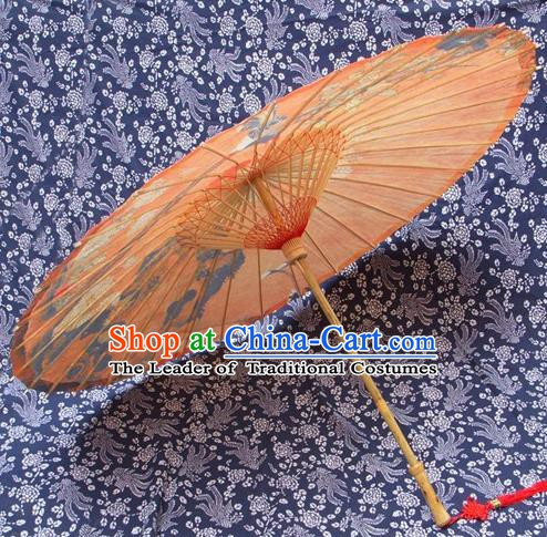 Handmade China Traditional Dance Umbrella Classical Oil-paper Umbrella Stage Performance Props Umbrellas