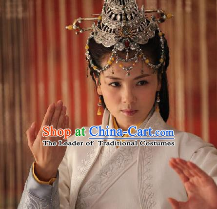 Traditional Handmade Chinese Ancient Classical Hair Accessories Palace Princess Hairpins for Women