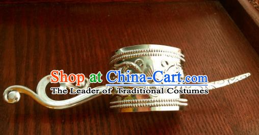 Traditional Handmade Chinese Ancient Classical Hair Accessories Hairpins Hairdo Crown for Women