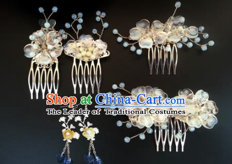 Traditional Handmade Chinese Ancient Classical Hair Accessories Hairpins Hair Combs for Women