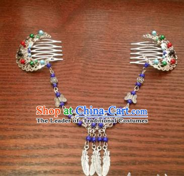 Traditional Handmade Chinese Ancient Classical Frontlet Hair Accessories Hairpins for Women