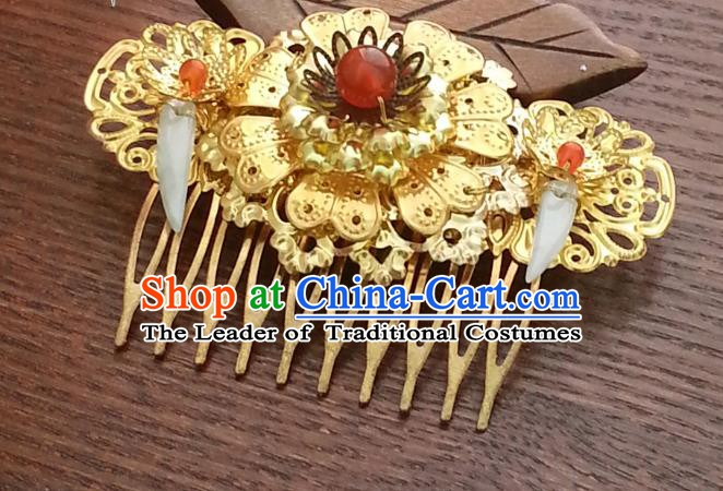 Handmade Traditional Chinese Classical Hair Accessories Ancient Hanfu Hairpins Wedding Hair Comb for Women