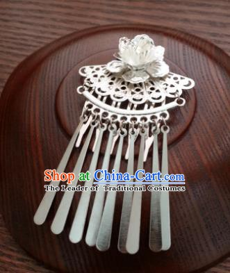 Handmade Traditional Chinese Classical Hair Accessories Hair Comb Ancient Hanfu Hairpins Hair Fascinators for Women