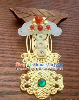 Traditional Handmade Chinese Classical Wedding Hair Accessories Ancient Queen Hairpins Hair Combs for Women