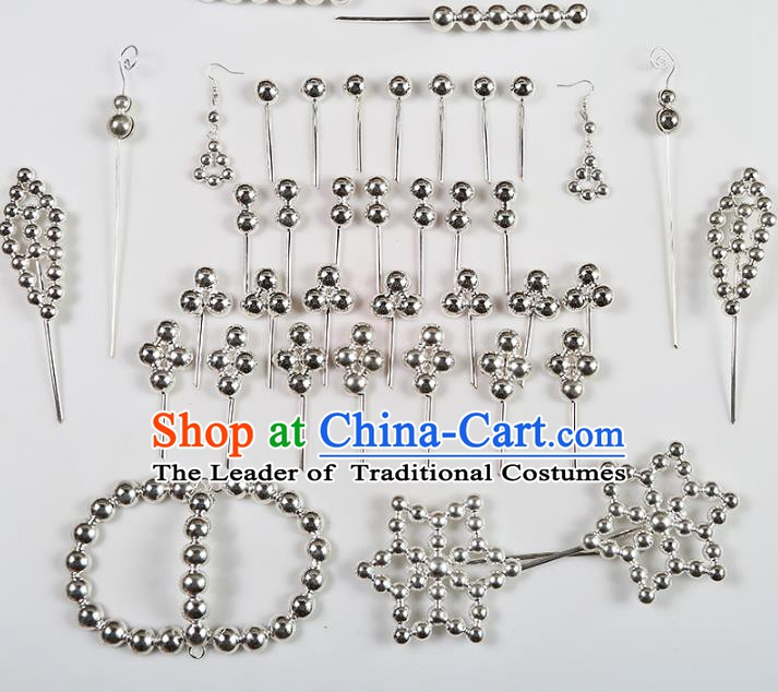 Chinese Beijing Opera Actress Hair Accessories Hairpins, China Peking Opera Diva Headpiece