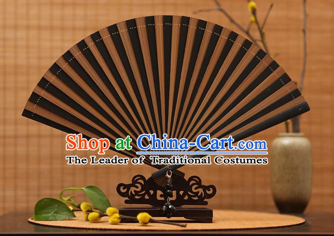 Traditional Chinese Crafts Folding Fan Bamboo Fans for Women