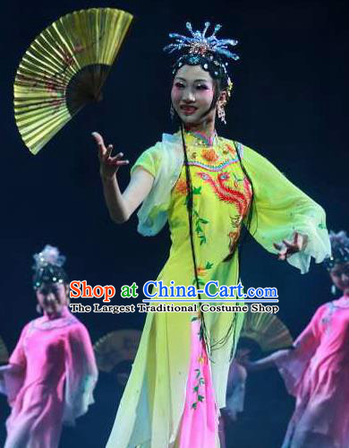 Chinese Traditional Folk Dance Costume Beijing Opera Classical Dance Clothing for Women