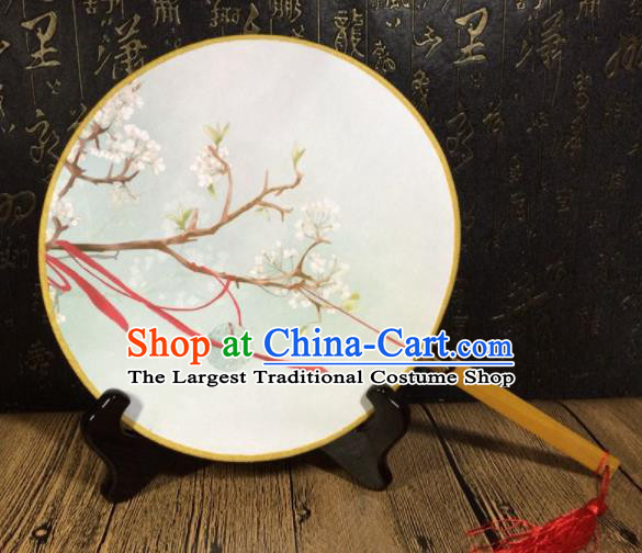 Chinese Ancient Palace Fans Handmade Round Fans for Women