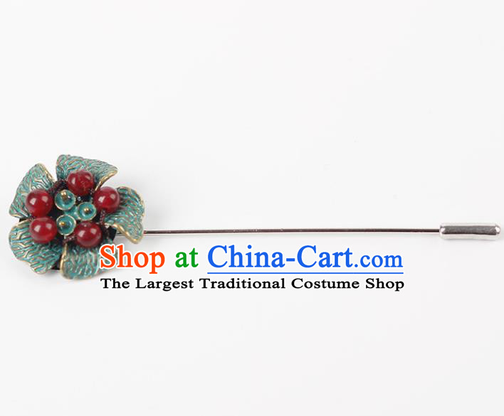 Chinese Ancient Hanfu Jewelry Accessories Breastpin Traditional Cheongsam Brooch for Women