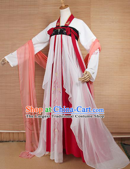 Top Grade Chinese Cosplay Princess Costumes Ancient Tang Dynasty Palace Lady Dress for Women