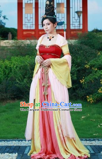 Top Grade Cosplay Peri Costumes Chinese Ancient Princess Dress for Women