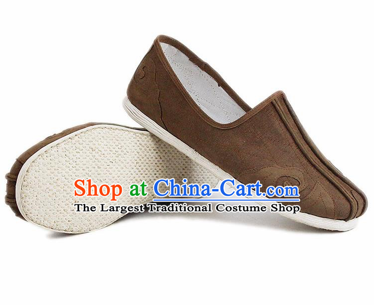 Chinese National Shoes Traditional Cloth Shoes Monks Shoes for Men