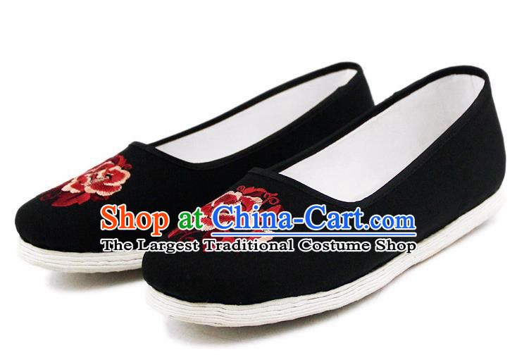 Chinese National Handmade Shoes Traditional Shoes Embroidered Cloth Shoes for Women