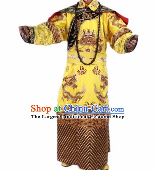 Chinese Traditional Peking Opera Costumes Ancient Emperor Clothing for Men