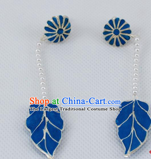 Chinese Traditional Peking Opera Diva Accessories Ancient Earrings for Women