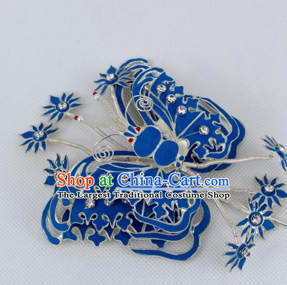 Chinese Traditional Peking Opera Butterfly Hairpins Ancient Princess Hair Accessories for Women