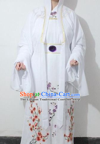 Chinese Traditional Peking Opera Niche Robe Ancient Scholar Embroidered Costume for Men