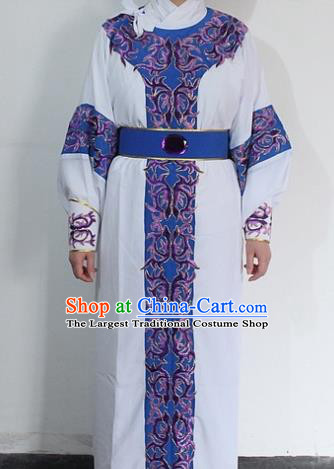 Chinese Traditional Peking Opera Niche Robe Ancient Prince Embroidered Costume for Men