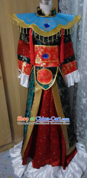 Chinese Traditional Embroidered Clothing Ancient Han Dynasty Prince Costumes for Men