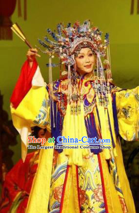 Chinese Traditional Beijing Opera Embroidered Costume Ancient Imperial Consort Hanfu Dress for Women