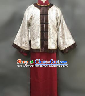 Chinese Ancient Qing Dynasty Nobility Childe Costumes for Men
