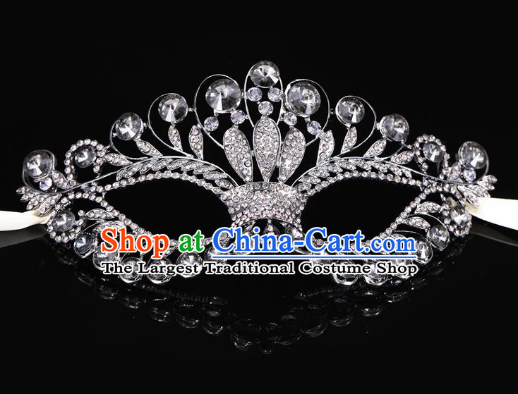 Handmade Halloween Accessories Venice Fancy Ball Cosplay Props Crystal Masks for Women