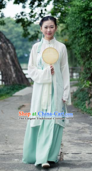 Traditional Chinese Ming Dynasty Nobility Lady Embroidered Costumes for Rich Women