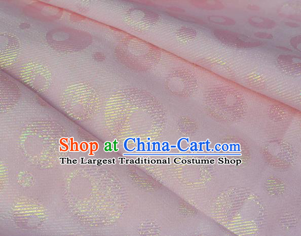 Asian Chinese Fabric Traditional Classical Pattern Design Pink Brocade Fabric Chinese Costume Silk Fabric Material