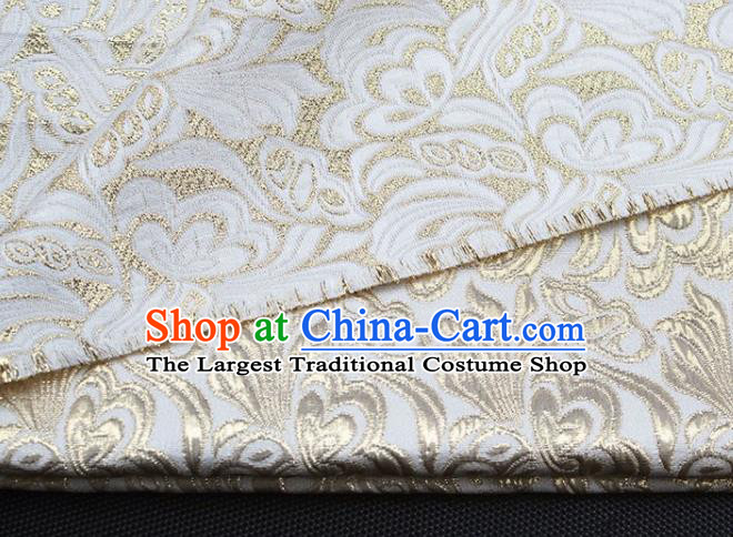 Asian Chinese Fabric Traditional Pattern Design Linen Brocade Fabric Chinese Costume Silk Fabric Material