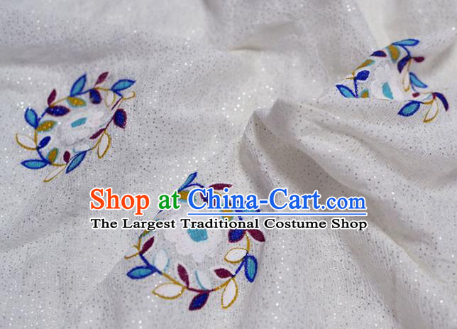 Asian Chinese Fabric Traditional Pattern Design Fabric Chinese Costume Silk Fabric Material
