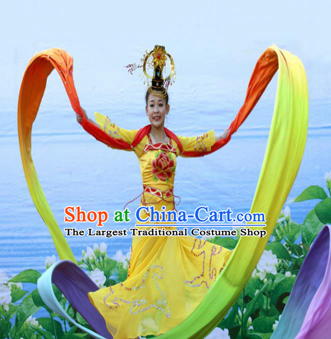 Chinese Traditional Classical Dance Costumes Ancient Peri Dance Clothing for Women