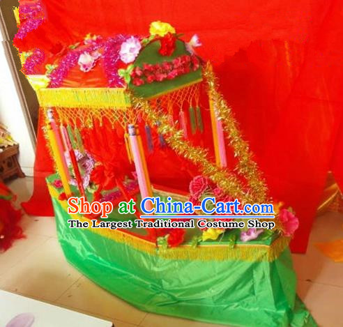 Chinese Traditional Folk Dance Yanko Dance Props Land Boat