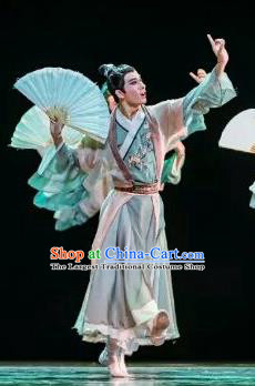 Chinese Traditional Classical Dance Costumes Ancient Dance Clothing for Men