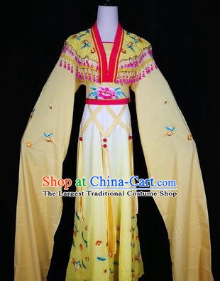 Chinese Traditional Peking Opera Mui Tsai Red Costumes Ancient Young Lady Dress for Adults