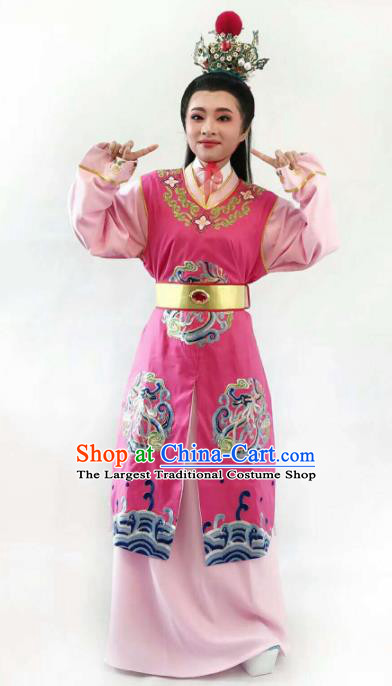 Chinese Traditional Peking Opera Niche Costume Ancient Scholar Jia Baoyu Robe for Adults