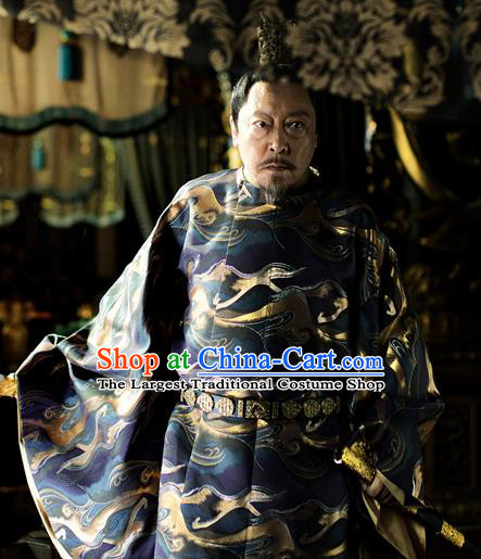 Chinese Ancient Imperator Costumes The Rise of Phoenixes Emperor Clothing for Men